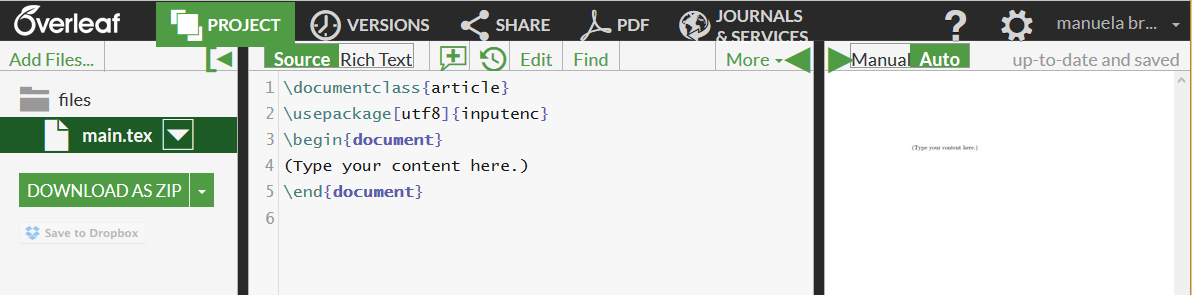 Writing publications with Overleaf | Reproducible Research Workshop