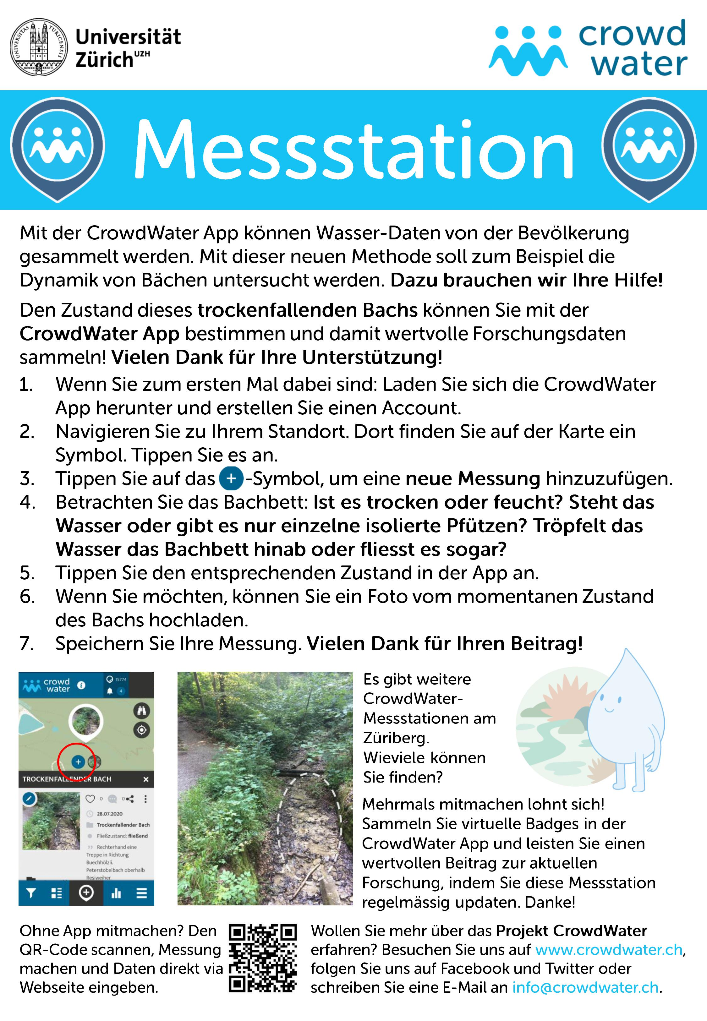 Crowdwater Messstation