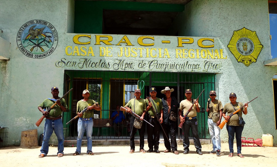 Communitarian Police Force in Guerrero