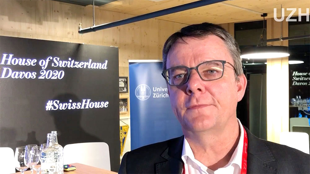 Michael Schaepman am WEF