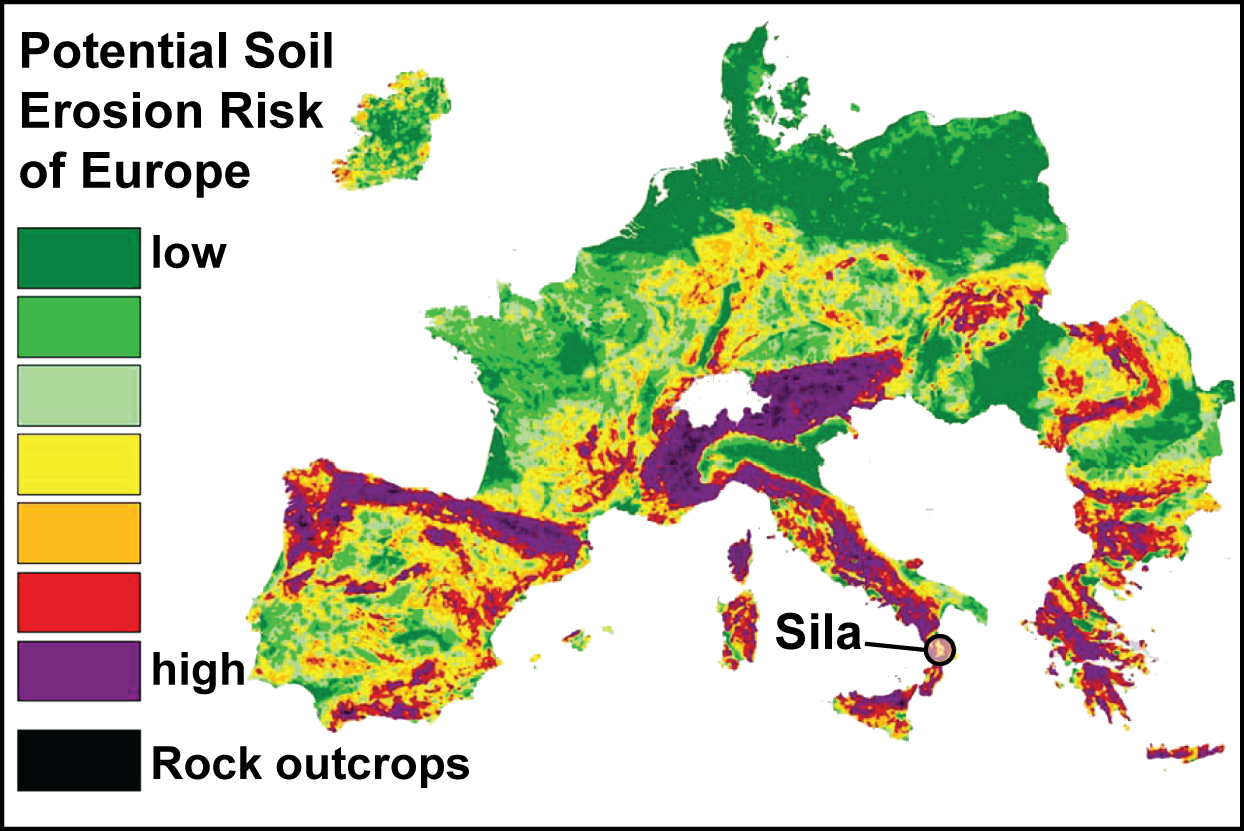 Potential Soil Erosion Risk